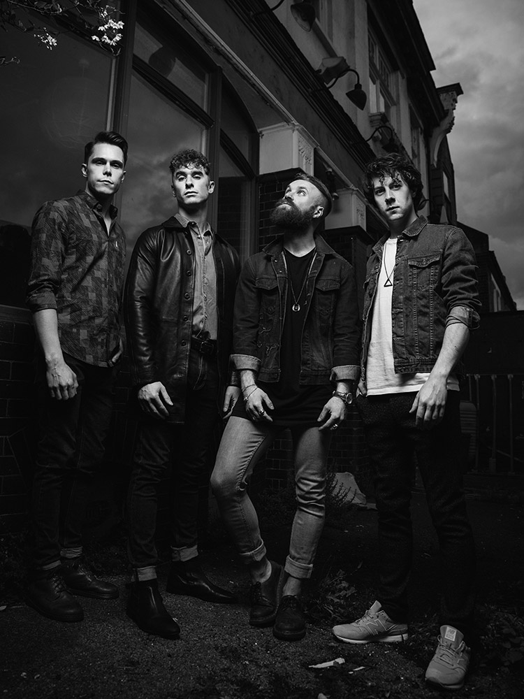 Lifestyle band prom of Don Broco photographed by Marcus Maschwitz