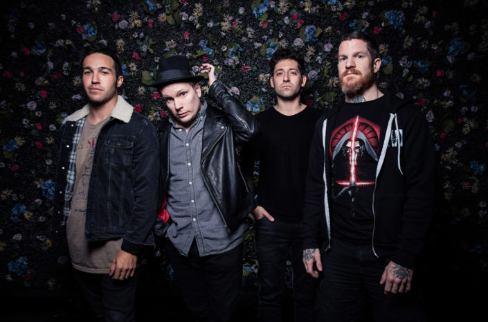 Press portrait of Fall Out Boy photographed by Marcus Maschwitz