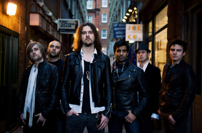 Jokers Dozen in soho promo portrait photographed by Marcus Maschwitz