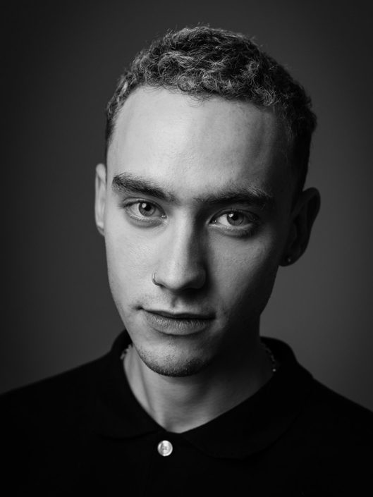 Editorial portrait of Olly Alexander from Years & Years photographed by Marcus Maschwitz
