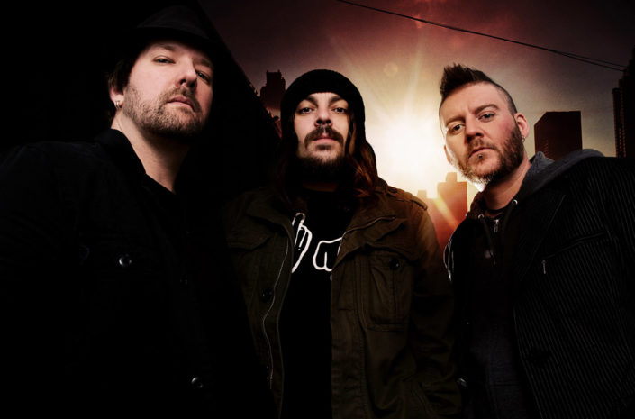 Magazine feature portrait of Seether photographed by Marcus Maschwitz