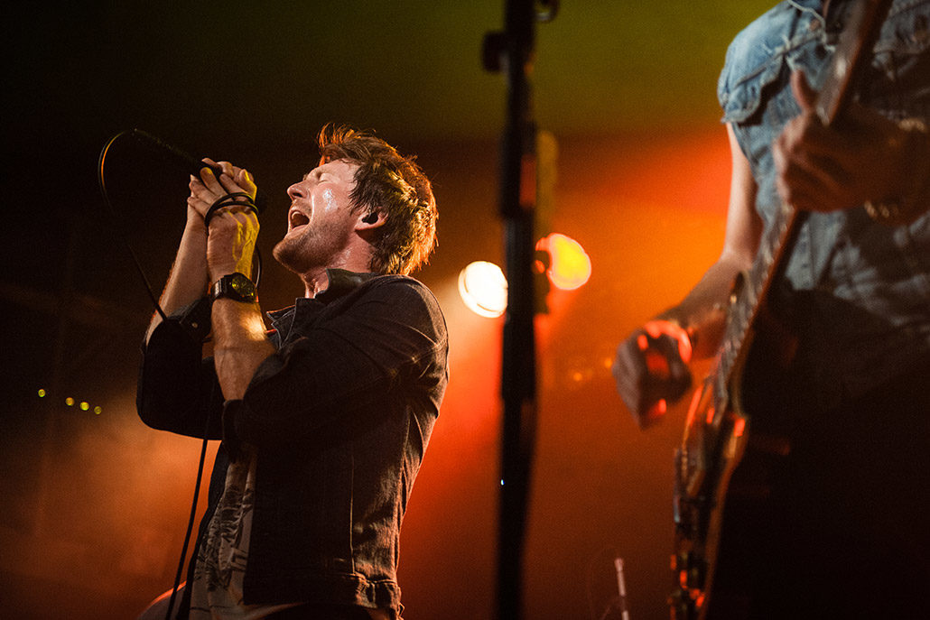 Anberlin performing live in London photographed by Marcus Maschwitz