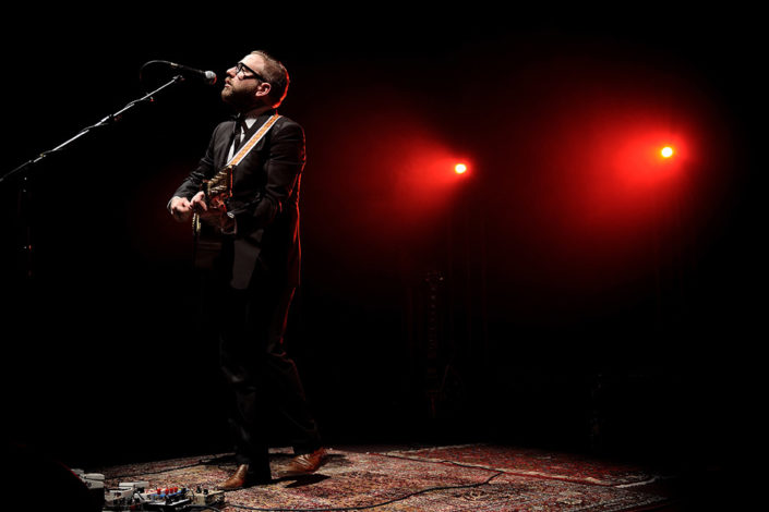 Dallas Green of City and Colour playing a live intimate show photographed by Marcus Maschwitz