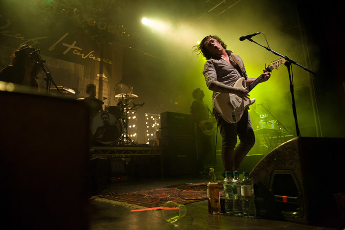 James Veck-Gilodi of Deaf Havana performing live photographed by Marcus Maschwitz