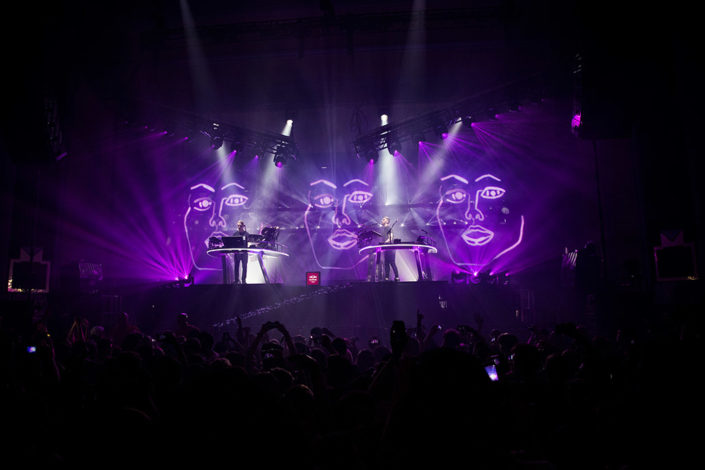 Disclosure Live album release show photographed by Marcus Maschwitz