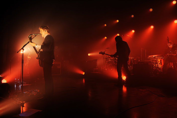 Interpol live show photographed by Marcus Maschwitz
