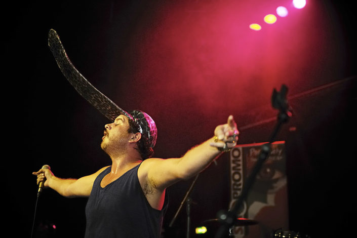 Jack Parow performing live photographed by Marcus Maschwitz