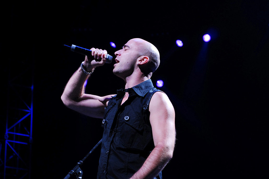 Ed Kowalczyk of Live performing in South Africa photographed by Marcus Maschwitz