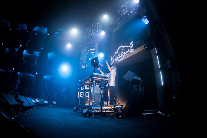 Lucas Versetti playing Red Bull Future Underground in London photographed by Marcus Maschwitz