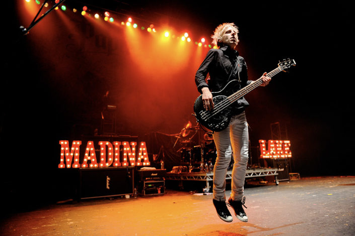 Madina Lake live in London photographed by Marcus Maschwitz