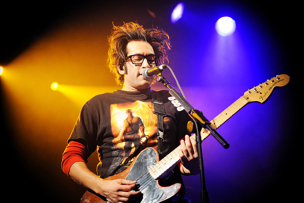 Motion City Soundtrack live for a review photographed by Marcus Maschwitz