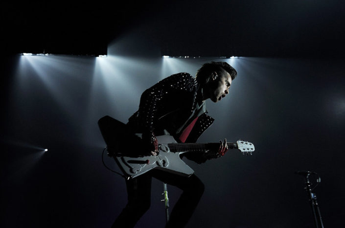 Jared Leto of 30 Seconds To Mars playing live photographed by Marcus Maschwitz