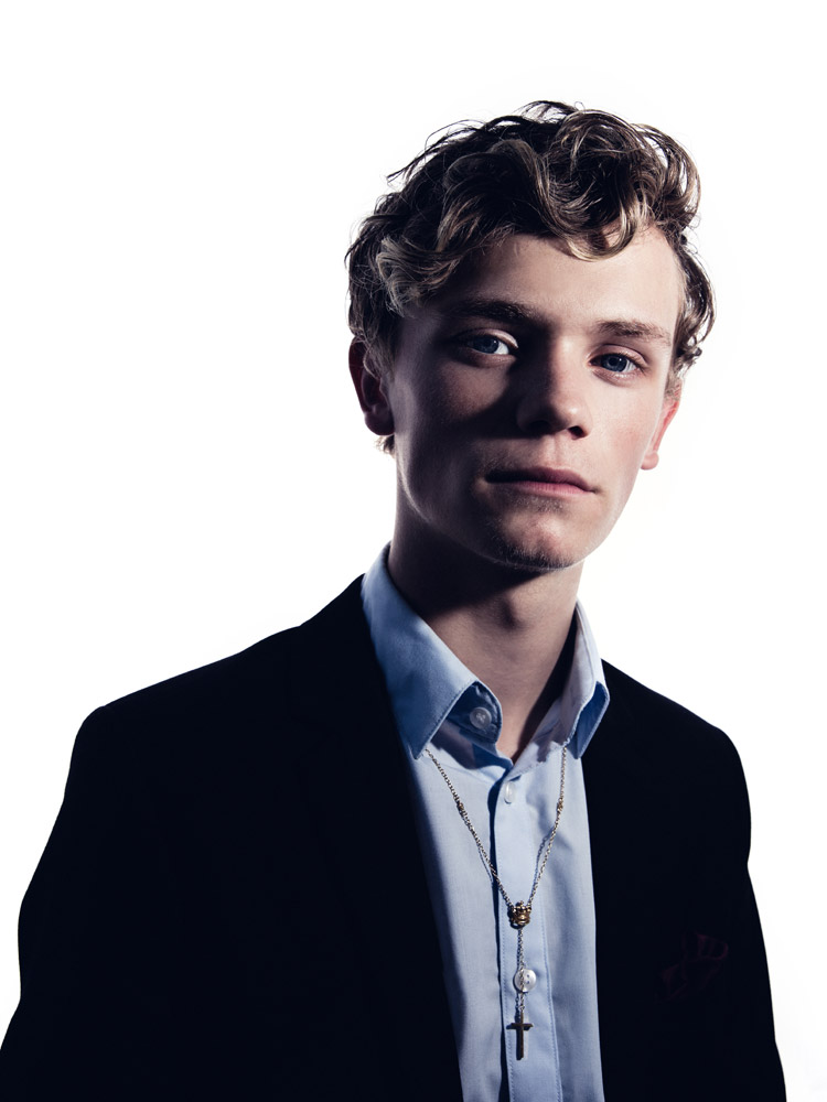 Portrait of Charlie Lenehan of Bars and Melody photographed by Marcus Maschwitz