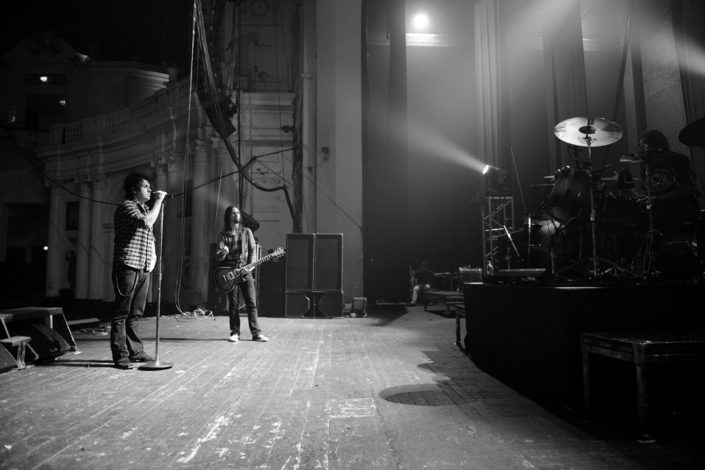 Papa Roach soundcheck photographed by Marcus Maschwitz