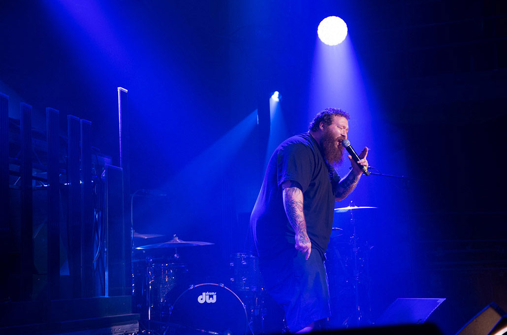 Action Bronson performing live for Red Bull photographed by Marcus Maschwitz